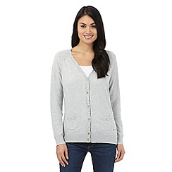 Mantaray - Grey V neck cardigan