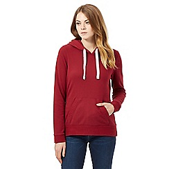 Mantaray - Red hooded sweatshirt