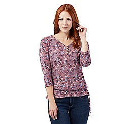 Mantaray - Light pink dragonfly top