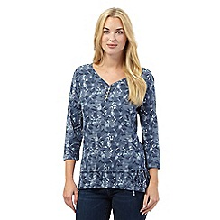 Mantaray - Light blue dragonfly top