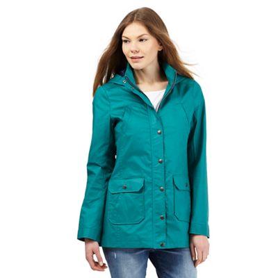Mantaray Green shower proof mac coat