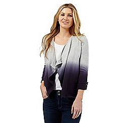 Mantaray - Grey ombre-effect cardigan