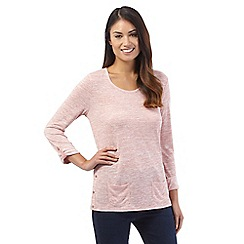 Mantaray - Light pink space dye top