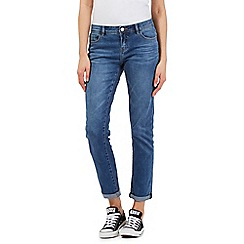 Mantaray - Light blue wash boyfriend fit cropped jeans