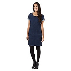 Mantaray - Blue denim tunic dress