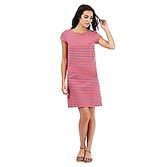 Mantaray - Pink striped shift dress