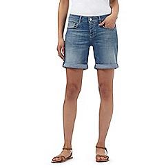 Mantaray - Light blue denim shorts