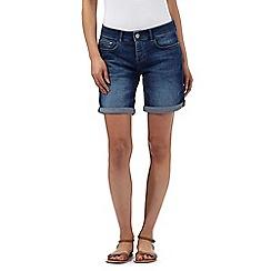 Mantaray - Blue denim shorts