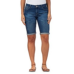 Mantaray - Light blue denim shorts