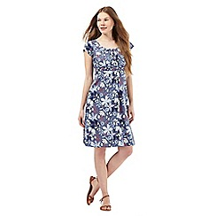 Mantaray - Blue floral print dress