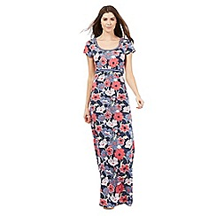 Mantaray - Multi-coloured floral print maxi dress