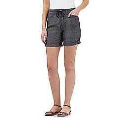 Mantaray - Navy crosshatch shorts