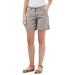 Mantaray - Grey crosshatch shorts