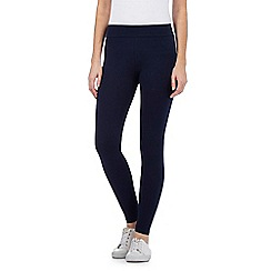 Mantaray - Navy wide waistband leggings