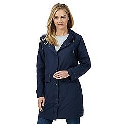 Mantaray - Navy hooded coat