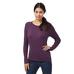 Mantaray - Purple pocket jumper