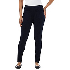 Mantaray - Navy corduroy jeggings