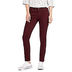 Mantaray - Dark red 'Brighton' skinny jeans