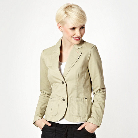 Mantaray - Natural textured blazer
