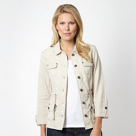 Mantaray - Natural linen jacket