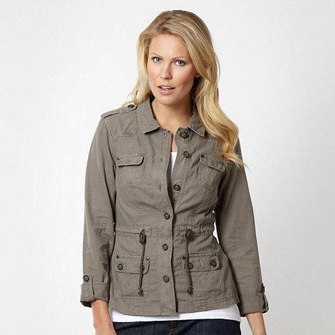 Mantaray - Taupe linen jacket