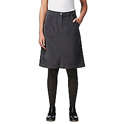Mantaray - Grey cord utility skirt