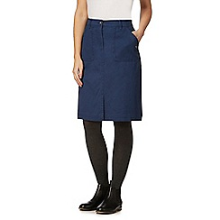Mantaray - Navy twill skirt