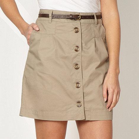 Mantaray - Natural chino skirt