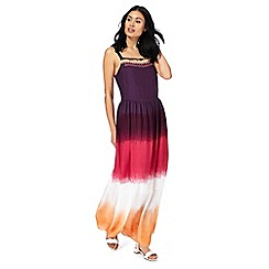 Mantaray - Multi-coloured ombre-effect maxi dress