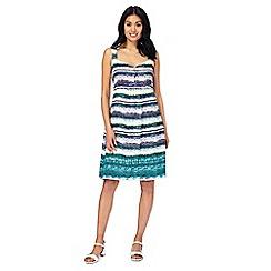 Mantaray - Multi-coloured striped dress