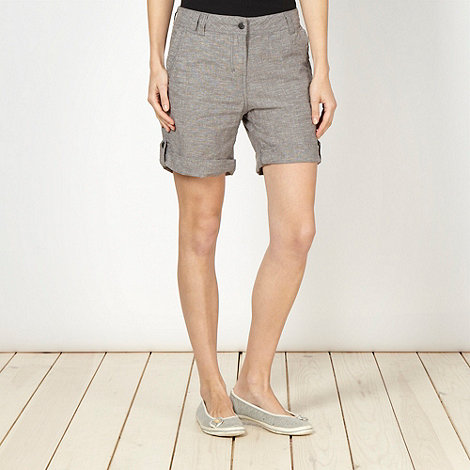Mantaray - Grey cross hatch shorts