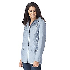 Mantaray - Pale blue quilted jacket