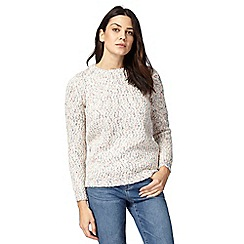 Mantaray - Pale pink knitted jumper