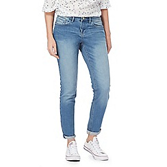 Mantaray - Light blue mid wash boyfriend jeans