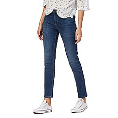 Mantaray - Blue mid-wash skinny jeans