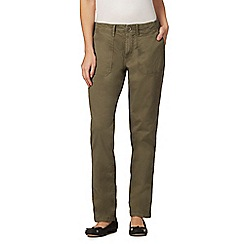 Mantaray - Khaki cargo trousers