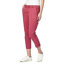 Mantaray - Pink girlfriend style chinos
