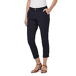 Mantaray - Navy girlfriend chino trousers