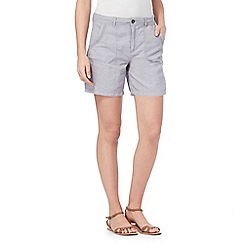Mantaray - Blue linen shorts