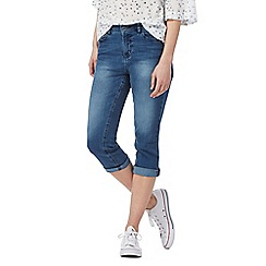 Mantaray - Blue cropped denim jeans