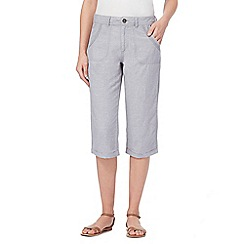 Mantaray - Grey cropped trousers