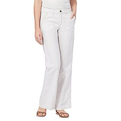 Mantaray - White wide leg trousers