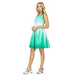 Racing Green - Green skater dress