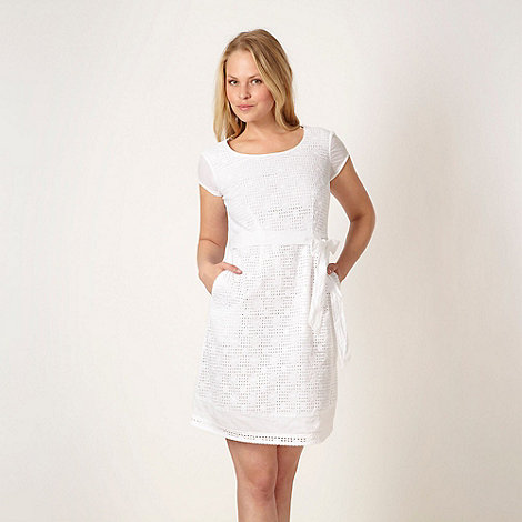 Mantaray - White broderie dress