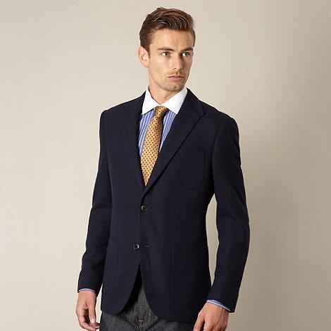 Hammond & Co. by Patrick Grant - Designer navy +Belgrade+ hopsack blazer