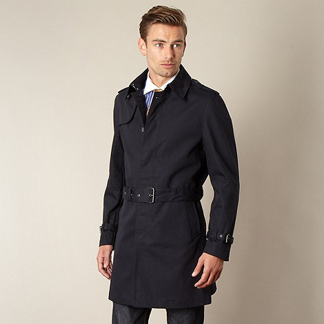 Hammond & Co. by Patrick Grant - Designer navy +Aberdeen+ cotton mac
