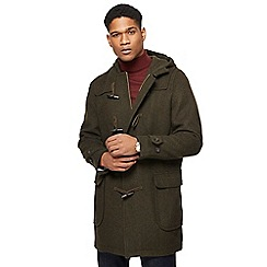 Hammond & Co. by Patrick Grant - Dark green wool blend duffle coat