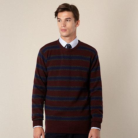 Hammond & Co. by Patrick Grant - Designer grey striped crew jumper