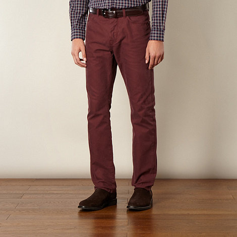 Hammond & Co. by Patrick Grant - Designer wine +Cavalry+ twill 5 pocket trousers