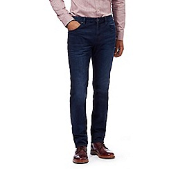Hammond & Co. by Patrick Grant - Dark blue dark wash slim jeans